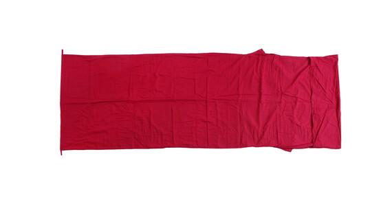 Basic Nature Katoenen binnenlaag Slaapzak dekenvorm rood